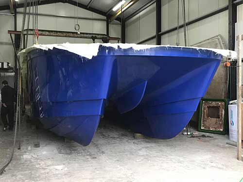 Dointhedo charterboat under construction